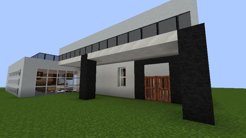 minecraft-house_31 【マイクラ】家を設計図からオシャレに作る!最新の作り方を大公開!