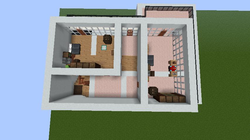 minecraft-house_32 【マイクラ】家を設計図からオシャレに作る!最新の作り方を大公開!