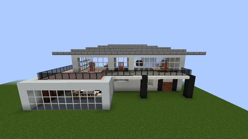 minecraft-house_35 【マイクラ】家を設計図からオシャレに作る!最新の作り方を大公開!