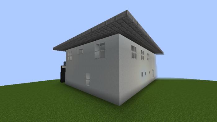 minecraft-house_41 【マイクラ】家を設計図からオシャレに作る!最新の作り方を大公開!