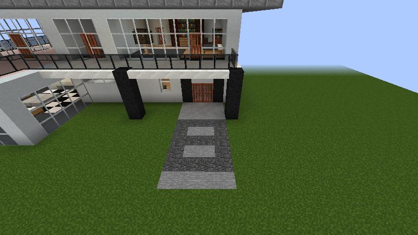 minecraft-house_42 【マイクラ】家を設計図からオシャレに作る!最新の作り方を大公開!