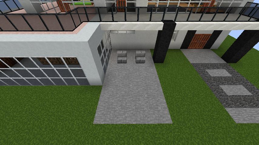 minecraft-house_43 【マイクラ】家を設計図からオシャレに作る!最新の作り方を大公開!