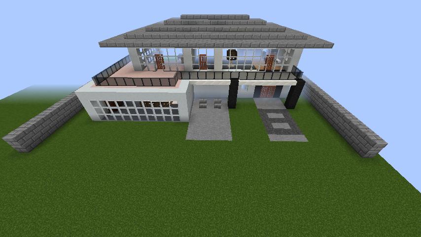 minecraft-house_44 【マイクラ】家を設計図からオシャレに作る!最新の作り方を大公開!