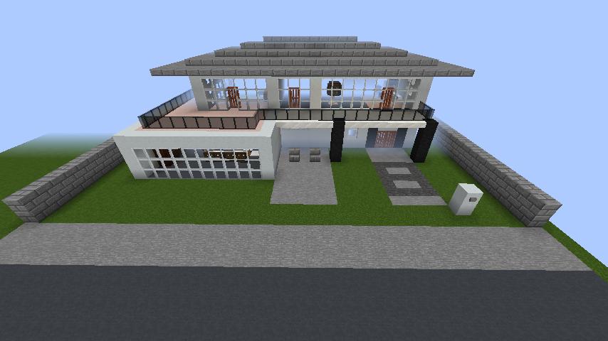 minecraft-house_46 【マイクラ】家を設計図からオシャレに作る!最新の作り方を大公開!