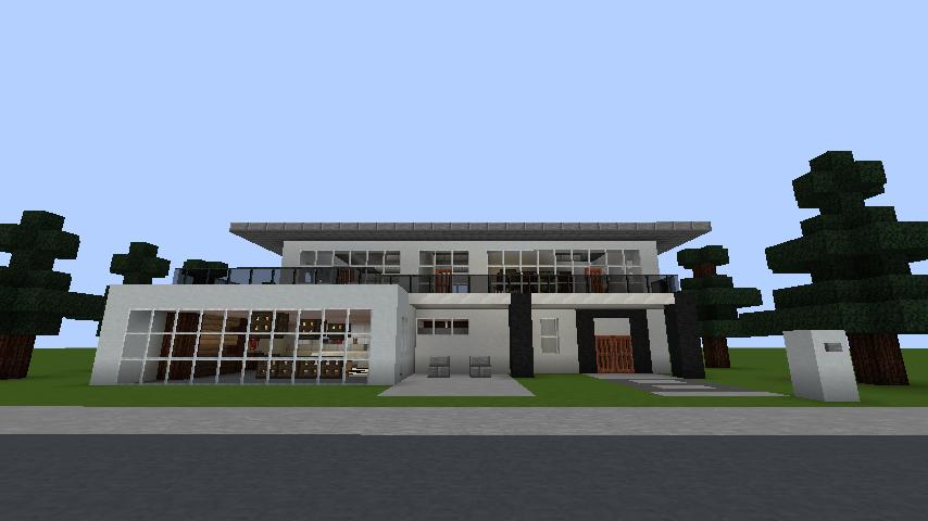 minecraft-house_63 【マイクラ】家を設計図からオシャレに作る!最新の作り方を大公開!