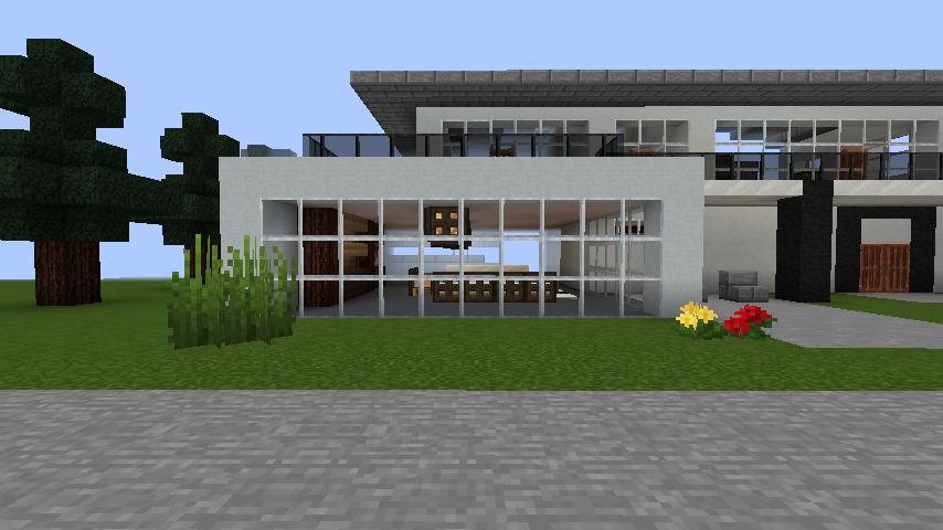 minecraft-house_64 【マイクラ】家を設計図からオシャレに作る!最新の作り方を大公開!