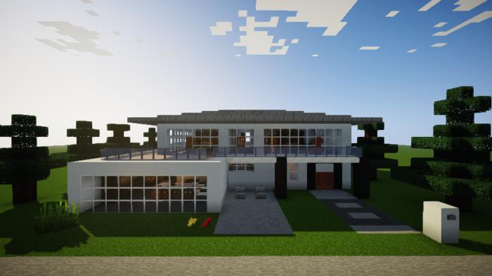 minecraft-house_66 【マイクラ】家を設計図からオシャレに作る!最新の作り方を大公開!