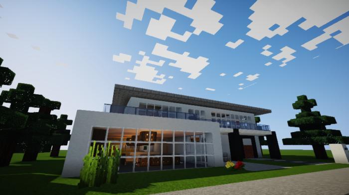 minecraft-house_69 【マイクラ】家を設計図からオシャレに作る!最新の作り方を大公開!