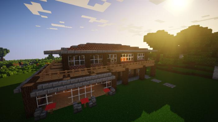 minecraft-house_73 【マイクラ】家を設計図からオシャレに作る!最新の作り方を大公開!