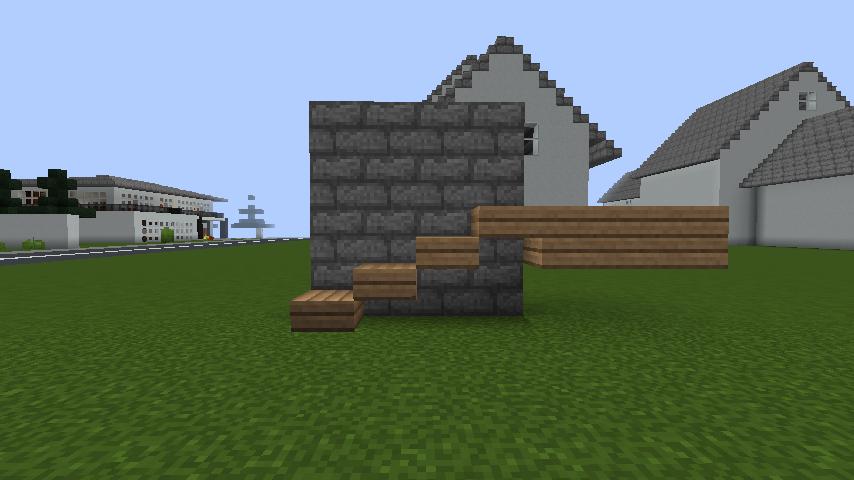 minecraft-house-2 現代建築 をマイクラでおしゃれに作れる!現代建築講座【設計図】