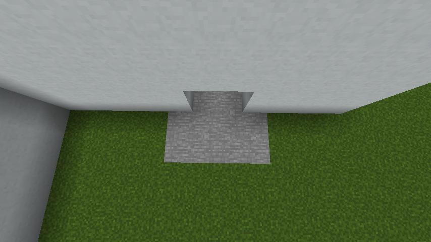 minecraft-house_07 現代建築 をマイクラでおしゃれに作れる!現代建築講座【設計図】
