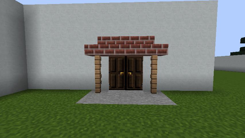 minecraft-house_10 現代建築 をマイクラでおしゃれに作れる!現代建築講座【設計図】