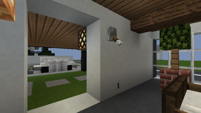 minecraft-house_101 現代建築 をマイクラでおしゃれに作れる!現代建築講座【設計図】