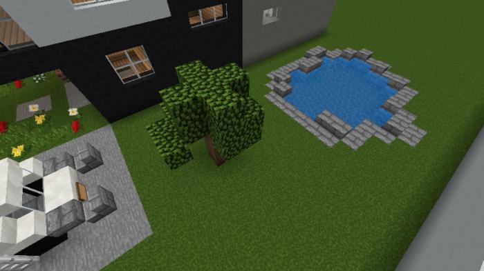 minecraft-house_107 現代建築 をマイクラでおしゃれに作れる!現代建築講座【設計図】