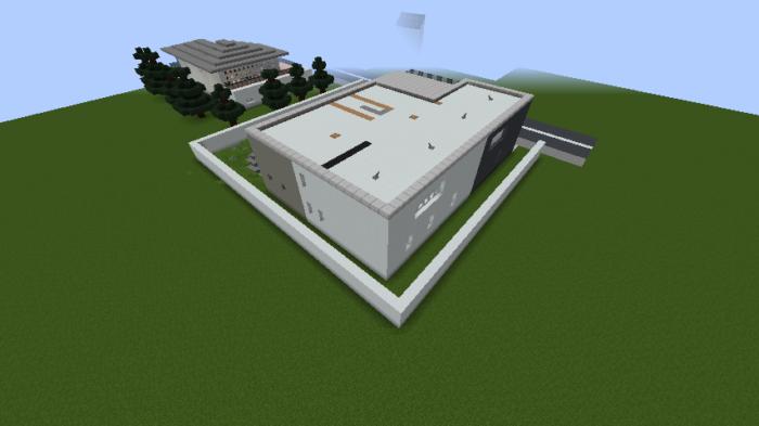 minecraft-house_109 現代建築 をマイクラでおしゃれに作れる!現代建築講座【設計図】