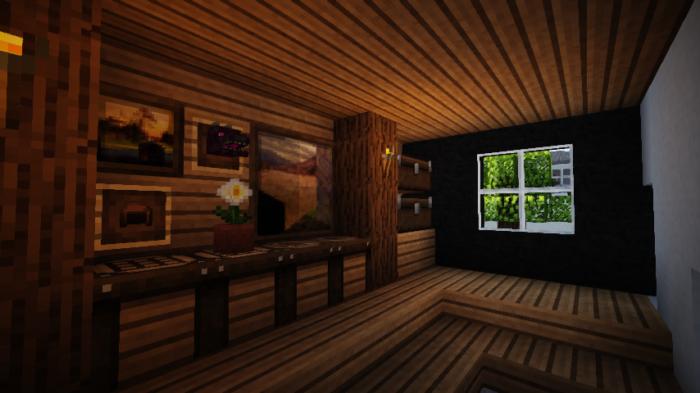 minecraft-house_122 現代建築 をマイクラでおしゃれに作れる!現代建築講座【設計図】