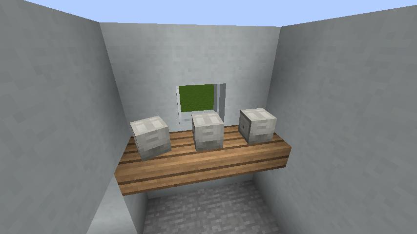 minecraft-house_16 現代建築 をマイクラでおしゃれに作れる!現代建築講座【設計図】