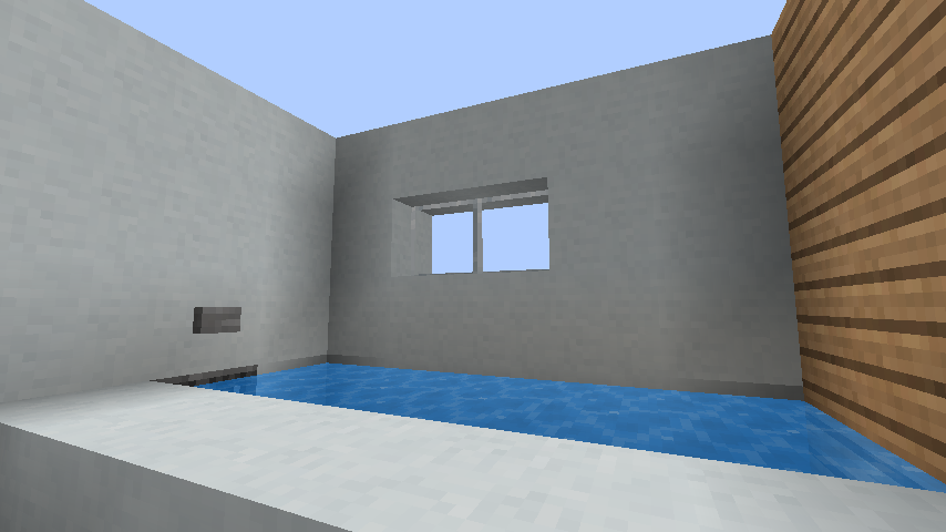 minecraft-house_17 現代建築 をマイクラでおしゃれに作れる!現代建築講座【設計図】