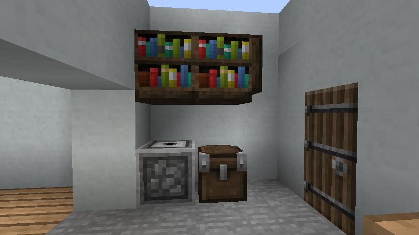 minecraft-house_18 現代建築 をマイクラでおしゃれに作れる!現代建築講座【設計図】