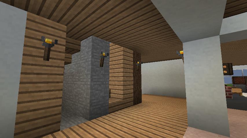 minecraft-house_27 現代建築 をマイクラでおしゃれに作れる!現代建築講座【設計図】