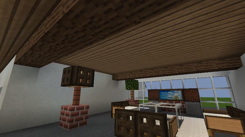 minecraft-house_30 現代建築 をマイクラでおしゃれに作れる!現代建築講座【設計図】