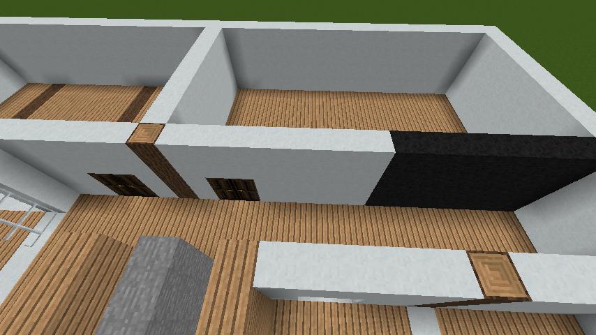 minecraft-house_45 現代建築 をマイクラでおしゃれに作れる!現代建築講座【設計図】