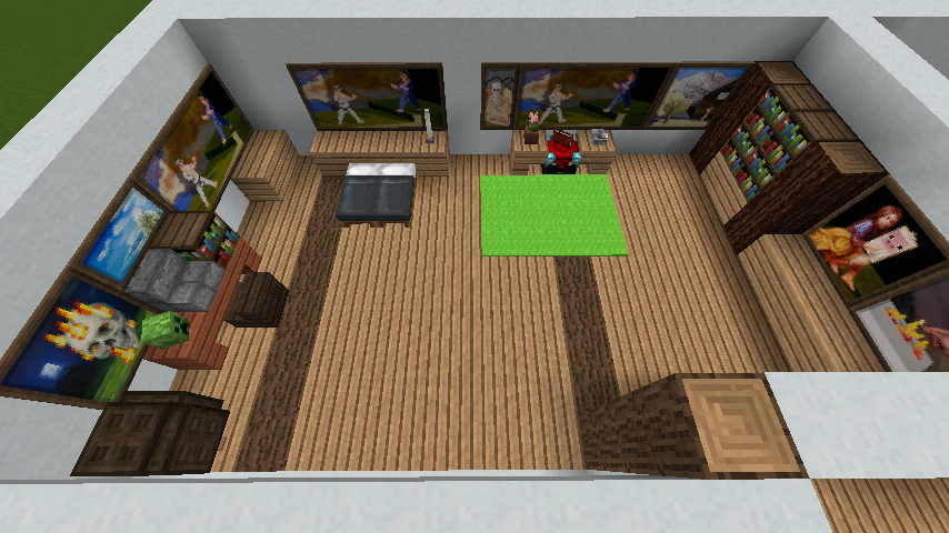 minecraft-house_47 現代建築 をマイクラでおしゃれに作れる!現代建築講座【設計図】