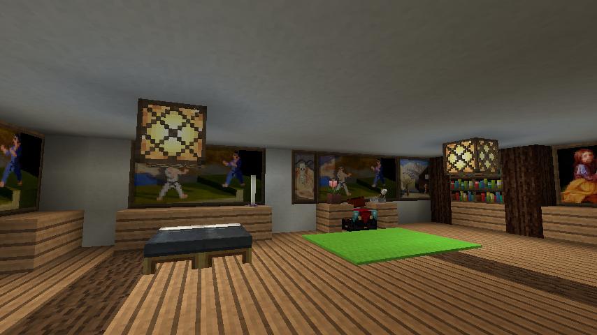minecraft-house_57 現代建築 をマイクラでおしゃれに作れる!現代建築講座【設計図】