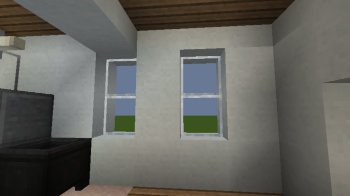 minecraft-house_64 現代建築 をマイクラでおしゃれに作れる!現代建築講座【設計図】