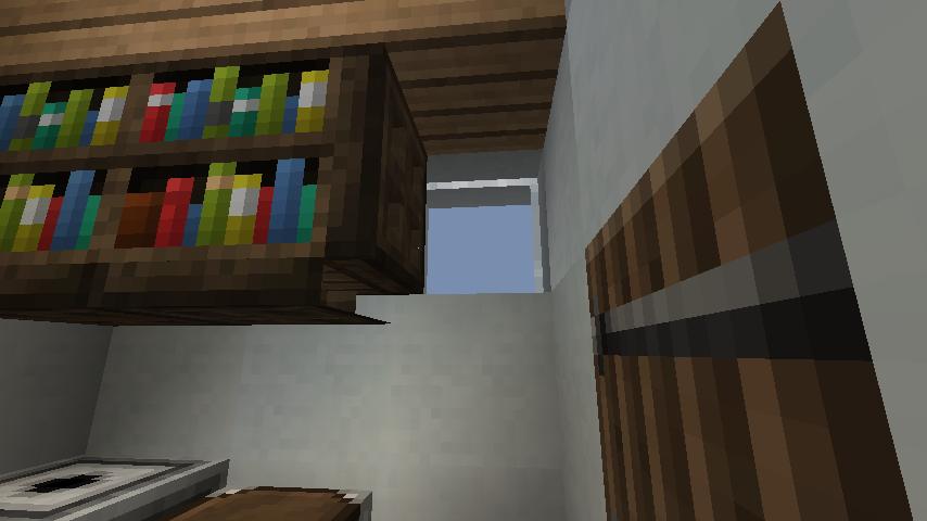 minecraft-house_65 現代建築 をマイクラでおしゃれに作れる!現代建築講座【設計図】