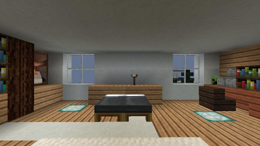 minecraft-house_69 現代建築 をマイクラでおしゃれに作れる!現代建築講座【設計図】