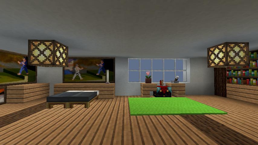 minecraft-house_70 現代建築 をマイクラでおしゃれに作れる!現代建築講座【設計図】