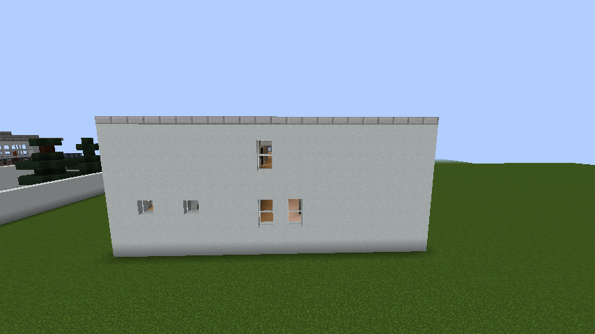 minecraft-house_74 現代建築 をマイクラでおしゃれに作れる!現代建築講座【設計図】