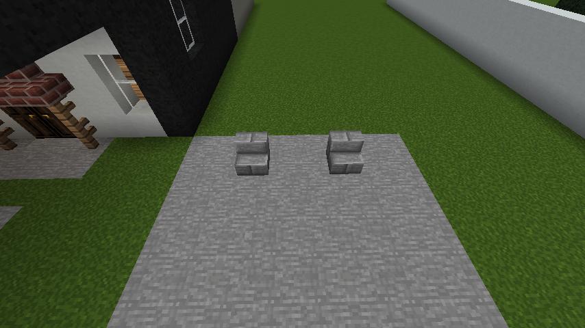 minecraft-house_84 現代建築 をマイクラでおしゃれに作れる!現代建築講座【設計図】