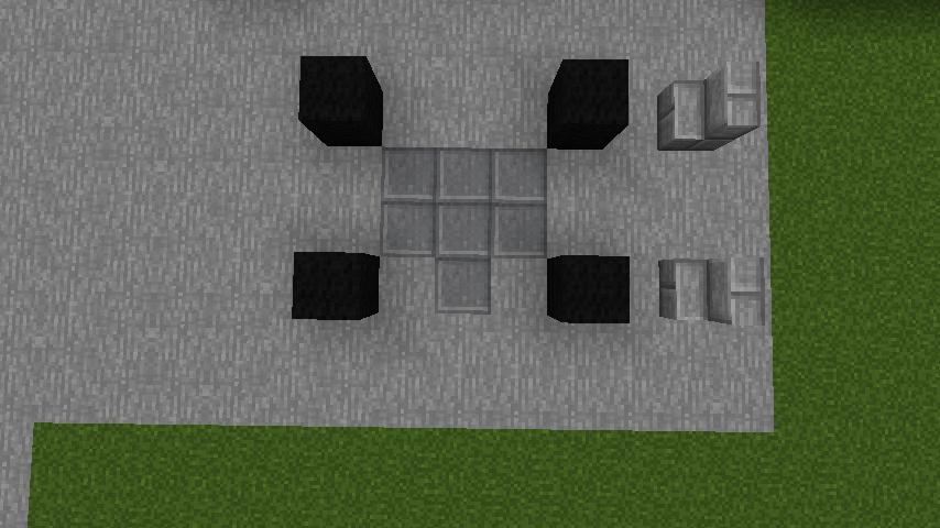 minecraft-house_85 現代建築 をマイクラでおしゃれに作れる!現代建築講座【設計図】