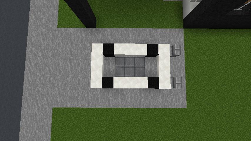 minecraft-house_86 現代建築 をマイクラでおしゃれに作れる!現代建築講座【設計図】