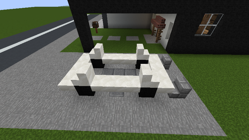 minecraft-house_87 現代建築 をマイクラでおしゃれに作れる!現代建築講座【設計図】