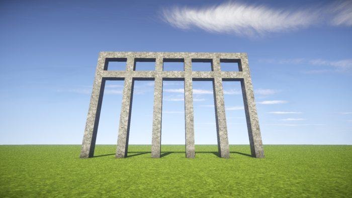 2020-03-05_22.02.22 【マイクラ】一工夫で完成度が段違い!和風な門の作り方