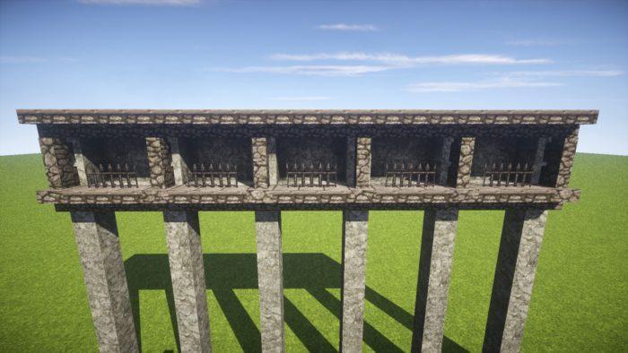 2020-03-05_22.08.14 【マイクラ】一工夫で完成度が段違い!和風な門の作り方
