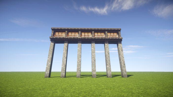 2020-03-05_22.12.25 【マイクラ】一工夫で完成度が段違い!和風な門の作り方