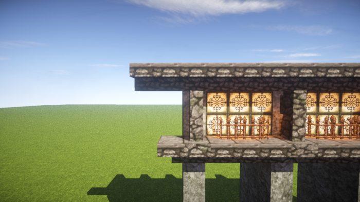 2020-03-05_22.16.33 【マイクラ】一工夫で完成度が段違い!和風な門の作り方