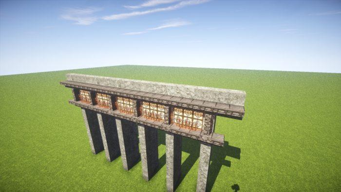 2020-03-05_22.19.26 【マイクラ】一工夫で完成度が段違い!和風な門の作り方