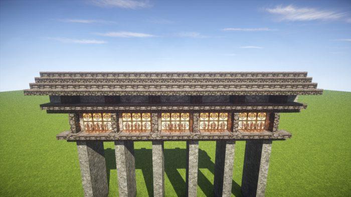 2020-03-05_22.25.49 【マイクラ】一工夫で完成度が段違い!和風な門の作り方