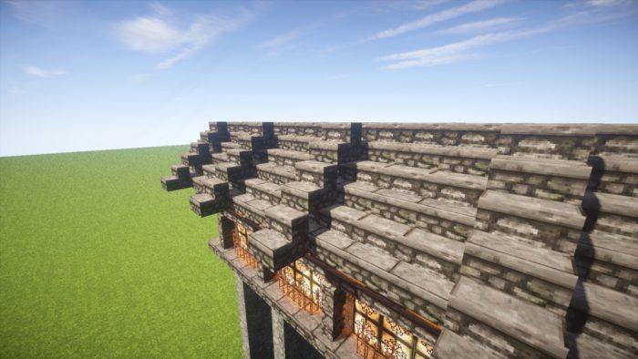 2020-03-05_22.36.49 【マイクラ】一工夫で完成度が段違い!和風な門の作り方