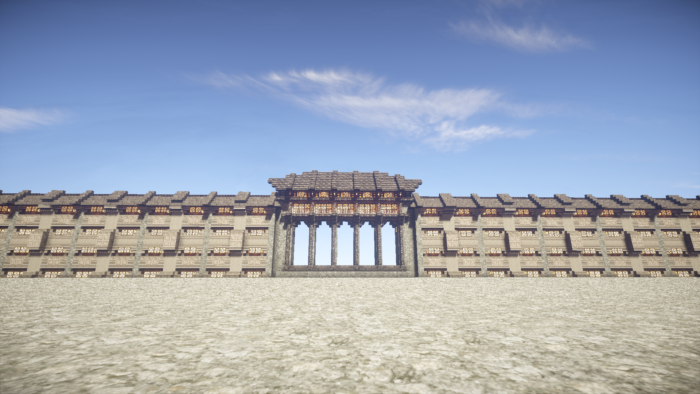 【cocricot】和風な壁の作り方を紹介【minecraft】